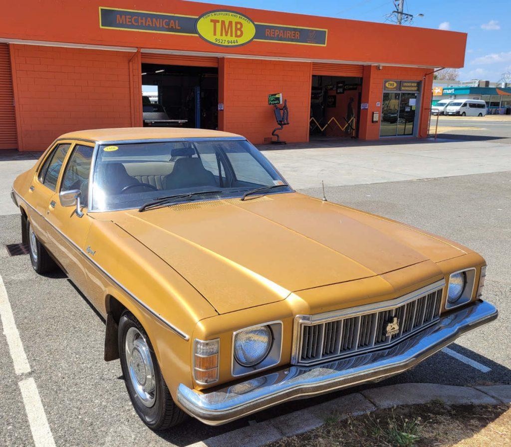 "Holden Kingswood ""Ted Bullpit"" 1977"