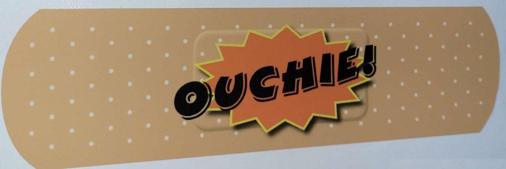 Car Sticker Perth BAID Ouchie